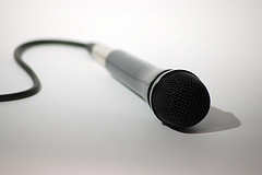 Microphone for a Funny Motivational Speaker