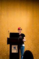 female motivational speaker