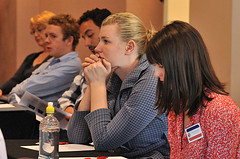 Group Attending a Leadership Conference