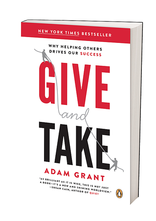 Book by Motivational Speaker Adam Grant
