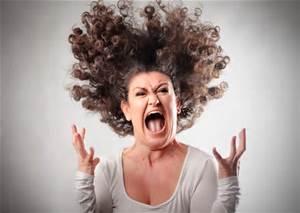 cranky woman
